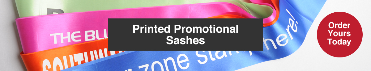 Promotional Sashes for Printing