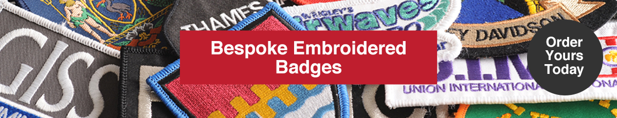 Embroidered Badges Order Yours Today
