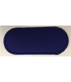Pack of 25 Blank Royal Name Badges with Heat Seal (Choice of Edging Colour)