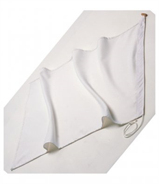 Individual Blank Flag: Available in Various Colours (50x70cm)