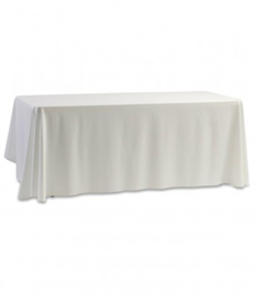 Individual Blank Cicular Exhibition Cloth/Tablecloth Available in Multiple Colours